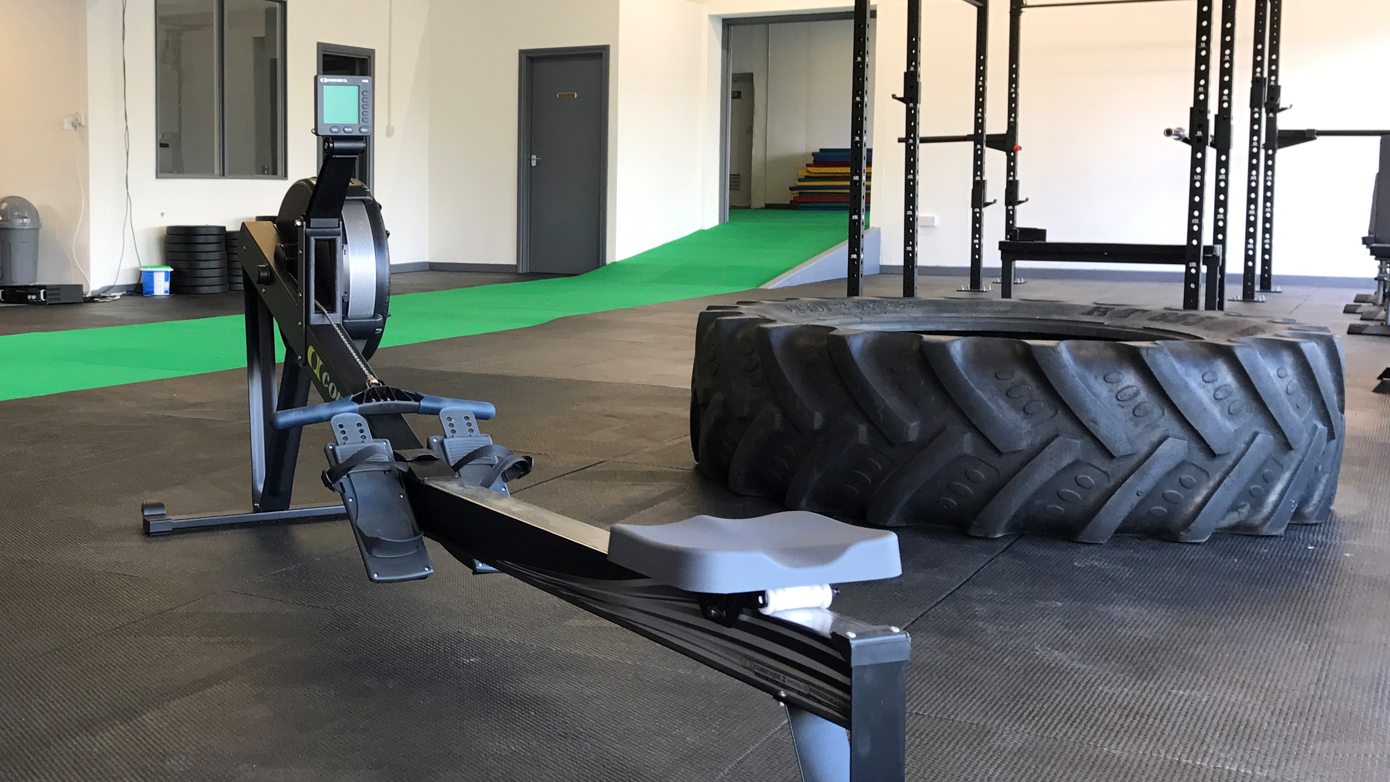 Rubber Gym Mats From Quattro Products